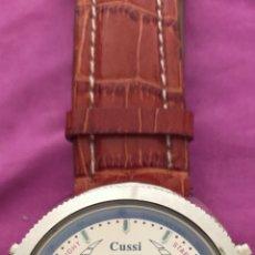 Relojes: RELOJ DE CABALLERO MARCA CUSSI ALARM CHRONO DUAL TIME. Lote 262430665