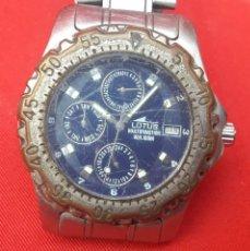 Relojes: RELOJ LOTUS MULTIFUNCTION W.R. 100M. Lote 262609805