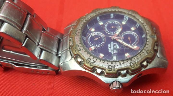Relojes: RELOJ LOTUS MULTIFUNCTION W.R. 100M - Foto 2 - 262609805