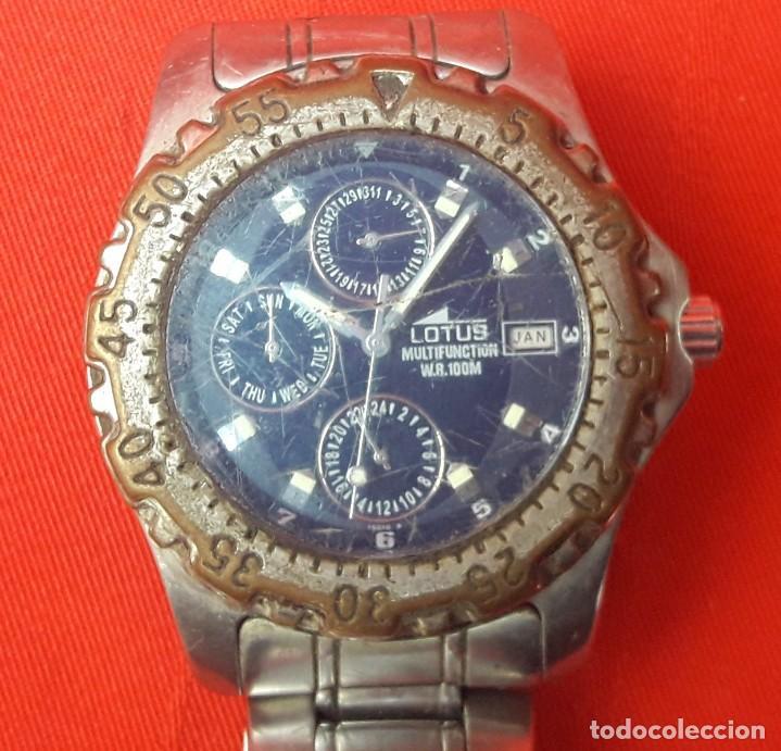 Relojes: RELOJ LOTUS MULTIFUNCTION W.R. 100M - Foto 5 - 262609805