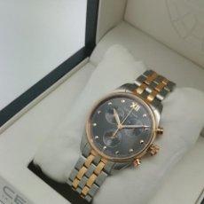 Relojes: RELOJ DE CUARZO CERTINA DS-8 CHRONO 100M - CAJA DE 35MM - ACERO Y ORO - C033234A - CON CAJA. Lote 262887225
