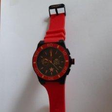 Relojes: RELOJ DEPORTIVO DE HOMBRE. LIMITED EDITION CALGARY , MUNDIAL ESPAÑA. Lote 263032695
