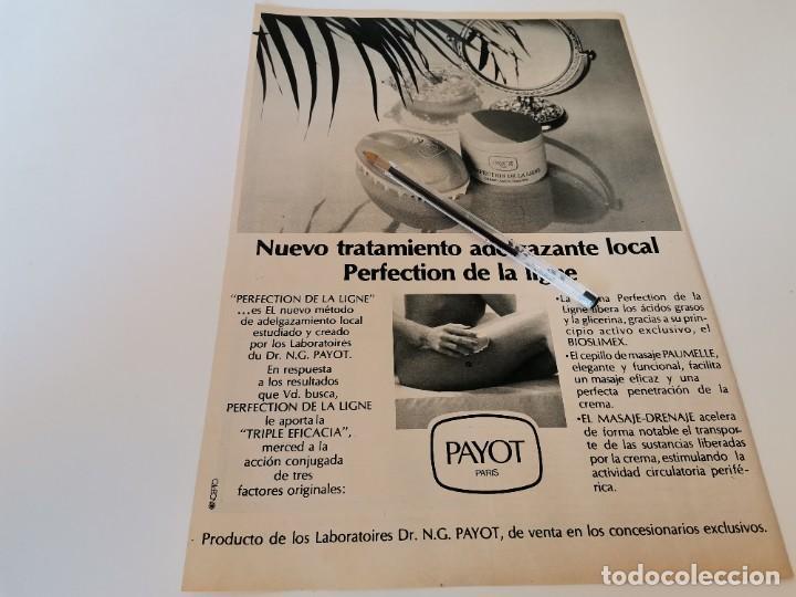 Relojes: RELOJ CAUNY REVERSO TRATAMIENTO ADELGAZANTES CREMA PSYOT PARÍS ANUNCIO PUBLICIDAD REVISTA 1984 - Foto 2 - 263034460