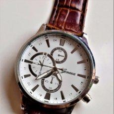 Relojes: RELOJ GENEVA - CAJA DE 40.MM DIAMETRO. Lote 263181650