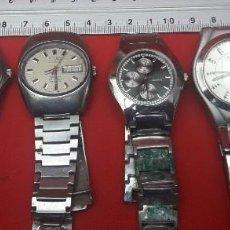 Relojes: LOTE DE 6 RELOJES DE PULSERA DISTINTAS MARCAS, NO FUNCIONAN. Lote 264063605