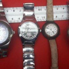 Relojes: LOTE DE 6 RELOJES DE PULSERA DISTINTAS MARCAS, NO FUNCIONAN. Lote 264063905