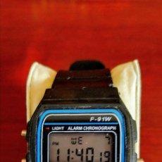 Orologi: RELOJ F-91 . DIGITAL . FUNCIONANDO .. Lote 264551604