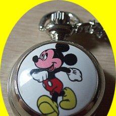 Relojes: RELOJ DE BOLSILLO MIKEY MOUSE.. Lote 265761774