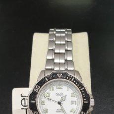 Relojes: RELOJ TAHER NUEVO (STOCK DE RELOJERÍA). ESTILO SUB. Lote 267821824