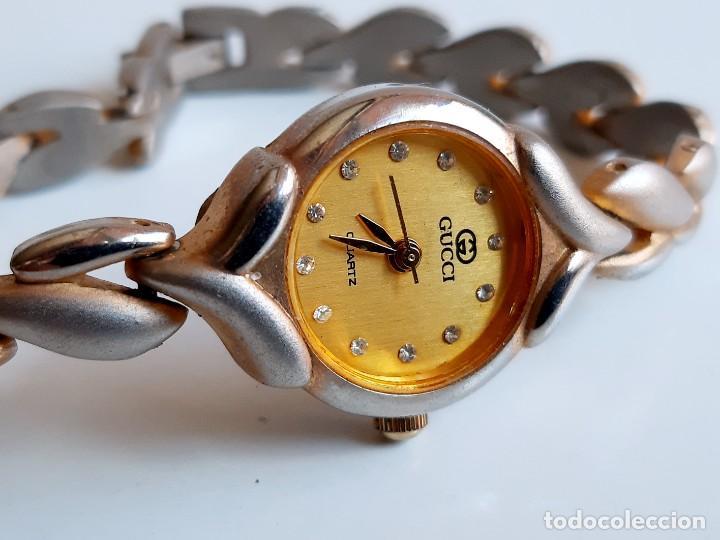 RELOJ GUCCI GOLDTIME - CAJA DE 21.MM DIAMETRO (Relojes - Relojes Actuales - Otros)