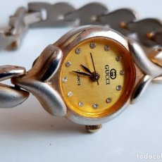 Orologi: RELOJ GUCCI GOLDTIME - CAJA DE 21.MM DIAMETRO. Lote 269092483