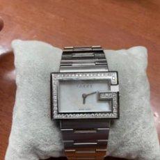 Relojes: PRECIOSO RELOJ GUCCI DE ACERO Y BRILLANTES. Lote 269162118