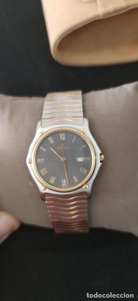 Relojes: EBEL SPORT CLASSIQUE, RELOJ DE CABALLERO, ALTA JOYERIA SUIZA, UNA JOYA EN ACERO Y ORO, CON ESTUCHE D - Foto 2 - 269200993