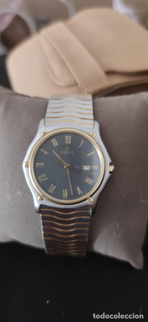 Relojes: EBEL SPORT CLASSIQUE, RELOJ DE CABALLERO, ALTA JOYERIA SUIZA, UNA JOYA EN ACERO Y ORO, CON ESTUCHE D - Foto 3 - 269200993