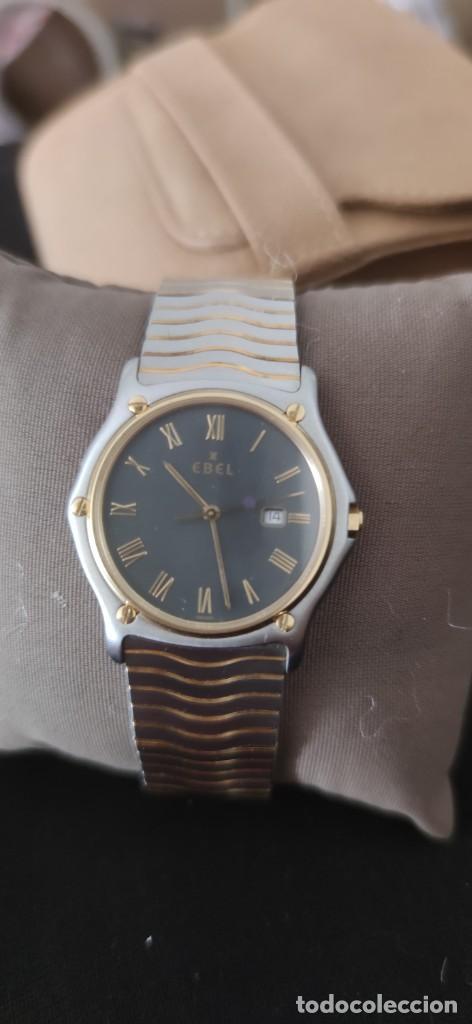 Relojes: EBEL SPORT CLASSIQUE, RELOJ DE CABALLERO, ALTA JOYERIA SUIZA, UNA JOYA EN ACERO Y ORO, CON ESTUCHE D - Foto 4 - 269200993