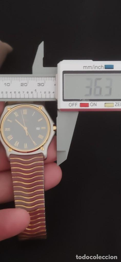 Relojes: EBEL SPORT CLASSIQUE, RELOJ DE CABALLERO, ALTA JOYERIA SUIZA, UNA JOYA EN ACERO Y ORO, CON ESTUCHE D - Foto 5 - 269200993