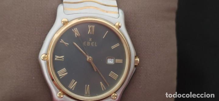 Relojes: EBEL SPORT CLASSIQUE, RELOJ DE CABALLERO, ALTA JOYERIA SUIZA, UNA JOYA EN ACERO Y ORO, CON ESTUCHE D - Foto 17 - 269200993