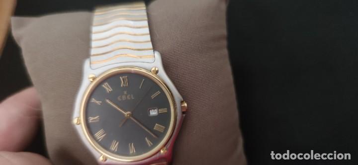 Relojes: EBEL SPORT CLASSIQUE, RELOJ DE CABALLERO, ALTA JOYERIA SUIZA, UNA JOYA EN ACERO Y ORO, CON ESTUCHE D - Foto 21 - 269200993