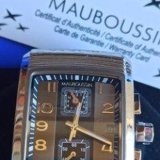 "Relojes: RELOJ MAUBOUSSIN ""FORCE & ENERGIE VITALES. Lote 273486058"