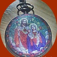 Relojes: TEMA CRISTIANO JESUS Y MARIA. Lote 273621453