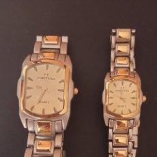 Relojes: 2 RELOJES DE CUARZO FT FORTUNA. Lote 276467238