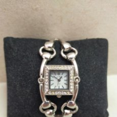 Relojes: RELOJ DE PULSERA DE SEÑORA EN METAL, LOUIS VALENTIN, QUARTZ. Lote 277044483