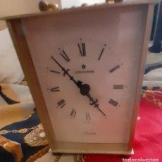 Relojes: RELOJ QUARTZ DE CARRUAJE JUNGHANS FUNCIONA. Lote 277049118
