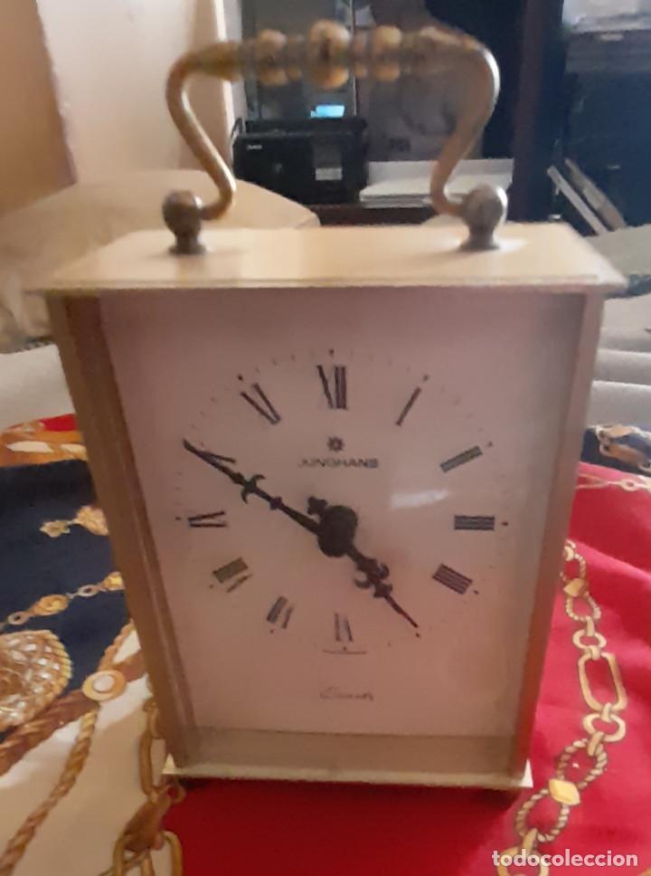 Relojes: RELOJ QUARTZ DE CARRUAJE JUNGHANS FUNCIONA - Foto 2 - 277049118