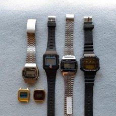Relojes: LOTE DE 6 RELOJES DIGITALES DE CUARZO. Lote 277744353