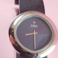 Relojes: RELOJ-ZODIAC AUTOMATIC-SUÍZO-DOBLE TONO EN ESFERA AZULADO OSCURO-PRECIOSO-CIERRE DEPLOYANTE-ESCASO+R. Lote 277834238