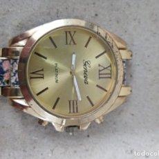 Relojes: RELOJ CABALLERO GENEVA PLATNUM. ( FALTA PASADOR. ). Lote 279510138