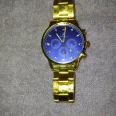 Relojes: ATENCIÓN:PVENTA MASIVA DE RELOJES POR LIQUIDACIÓN--RELOJ CHAPADO EN ORO-CALENDARIO-NO ES CRONÓGRAFO. Lote 280807143