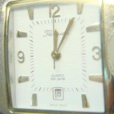 Relojes: RELOJ THERMIDOR, AUTOMÁTICO VINTAGE CALENDARIO - ACERO INOX. SUMERGIBLE 3 ATM. Lote 282251603