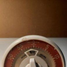 Relojes: RELOJ TEMPORIZADOR COCINA INGLÉS VINTAGE 40/50´S SMITS. Lote 283080498