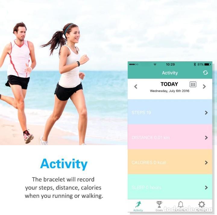 Relojes: Reloj con Monitor de Actividades, en su caja original, a estrenar, garantia. Para Ios y Android. INN - Foto 8 - 283141393