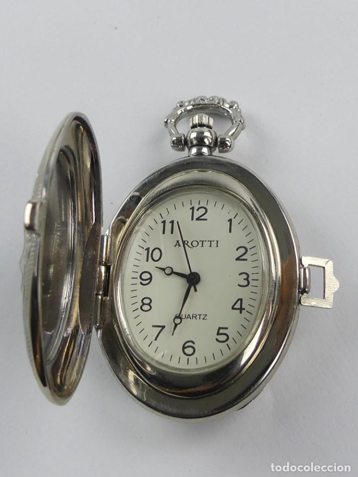 BONITO RELOJ DE BOLSILLO AROTTI QUARTZ (Relojes - Relojes Actuales - Otros)