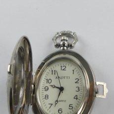 Relojes: BONITO RELOJ DE BOLSILLO AROTTI QUARTZ. Lote 285343683