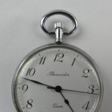 Relojes: VINTAGE RELOJ DE BOLSILLO THERMIDOR QUARTZ. Lote 285343743