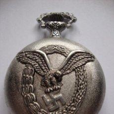 Relógios: ANTIGUO RELOJ DE LA II GUERRA MUNDIAL DE LUFTWAFFTE FLUGZEUGFUHRER FUNCIONA A PILAS PERFECTO ESTADO. Lote 286014683