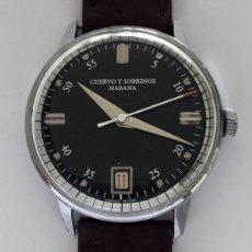 Relojes: CUERVO Y SOBRINOS. Lote 287041453