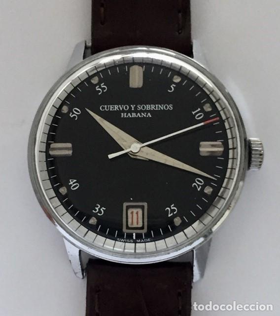 CUERVO Y SOBRINOS (Relojes - Relojes Actuales - Otros)