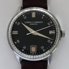 Relojes: CUERVO Y SOBRINOS. Lote 242002905