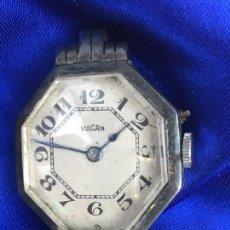 Relojes: RELOJ DE PULSERA A CUERDA VULCAIN EN PLATA FUNCIONANDO. Lote 287253093