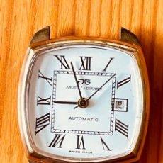 Relojes: RELOJ JAQUET + GIRARD, MAQUINARIA AUTOMÁTICA, PARA ARREGLAR O PARA PIEZAS. Lote 287645598
