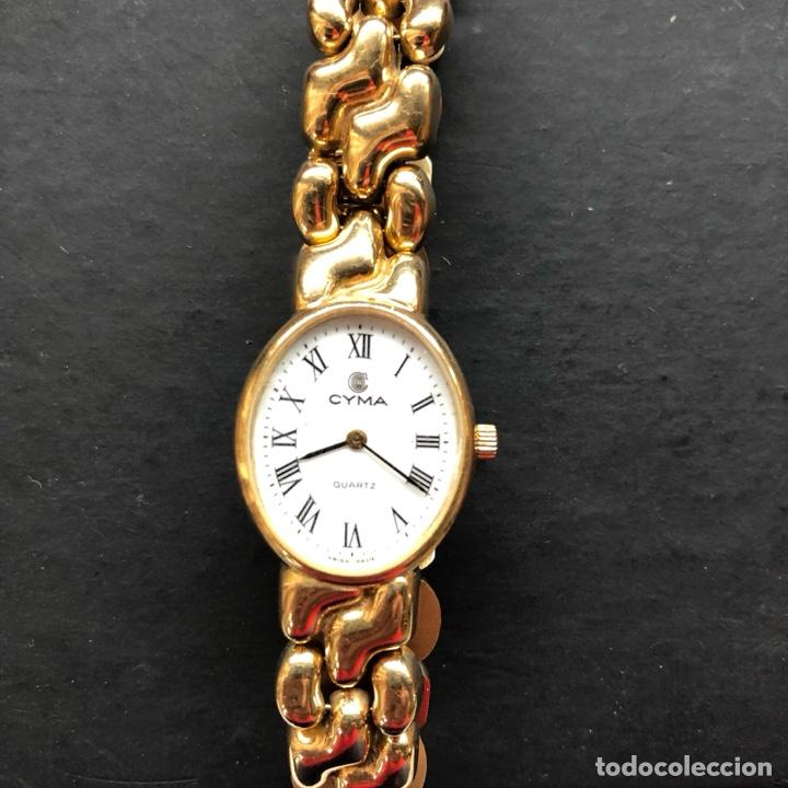 RELOJ CYMA DE ORO (Relojes - Relojes Actuales - Otros)