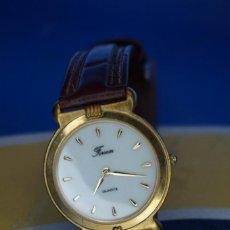 Relojes: RELOJ DE PULSERA FORSAM. CORREA DE PIEL.. Lote 287850458