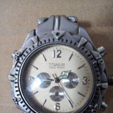 Relojes: BONITO RELOJ TITANIUM SWISS DESIGN TITANIUM WOLRD DRIVE. Lote 288605438