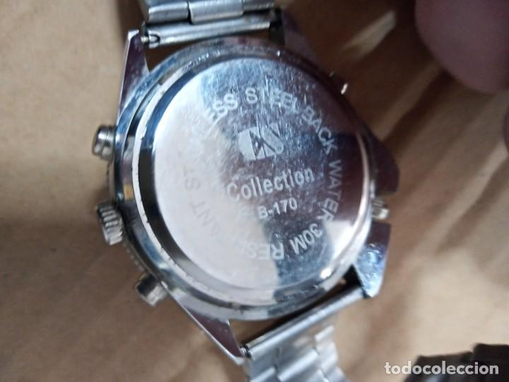 Relojes: BONITO RELOJ CS COLLECTION ALARMA CHRONO DUAL TIME - Foto 4 - 288606953