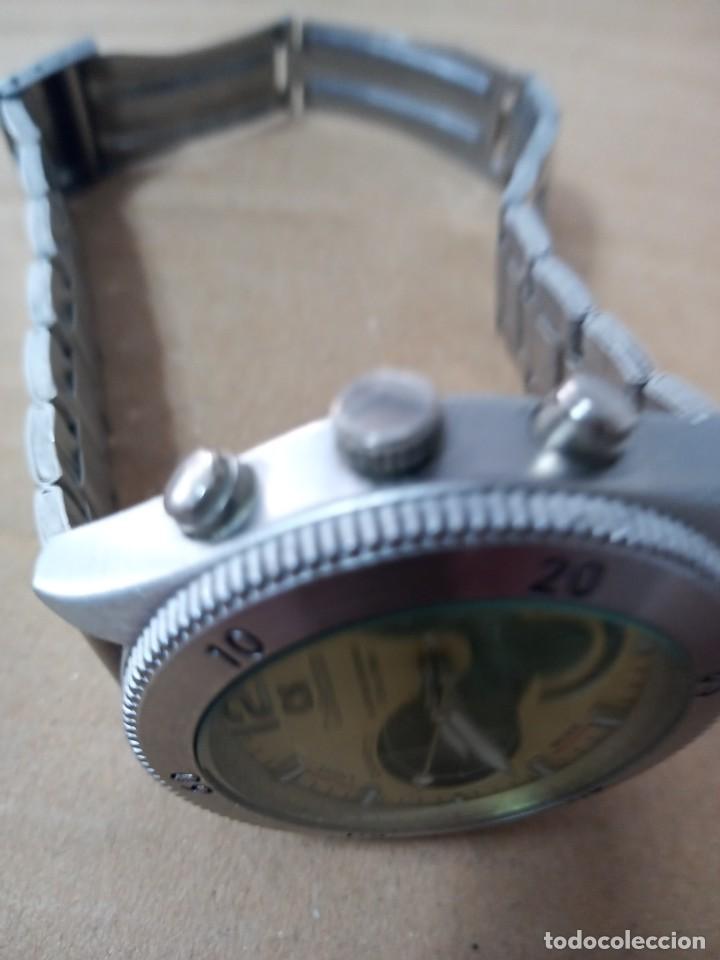Relojes: BONITO RELOJ CS COLLECTION ALARMA CHRONO DUAL TIME - Foto 6 - 288606953
