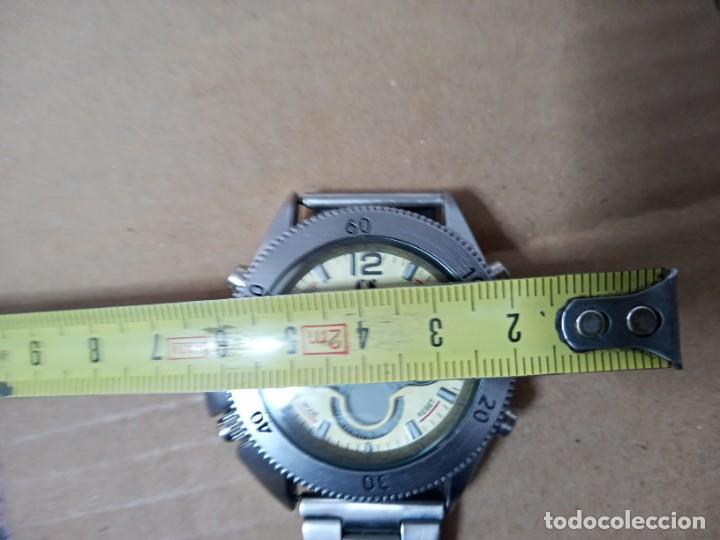 Relojes: BONITO RELOJ CS COLLECTION ALARMA CHRONO DUAL TIME - Foto 11 - 288606953